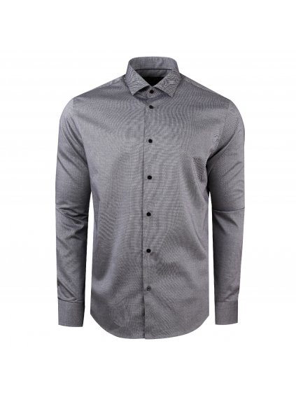 Pánská košile FERATT Gray Modern šedá