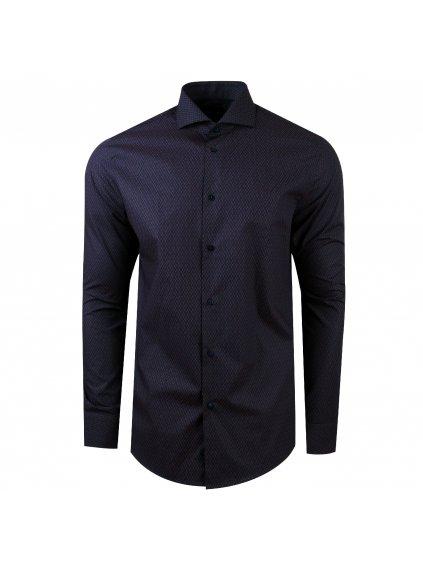 Košile Pablo Slim modrá