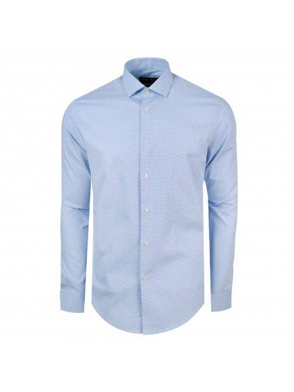 Pánská košile FERATT 3D Modern modrá