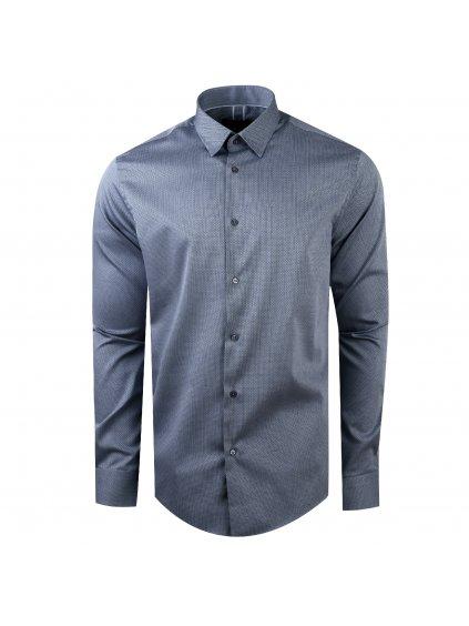 pánská košile FERATT 3D Modern šedá