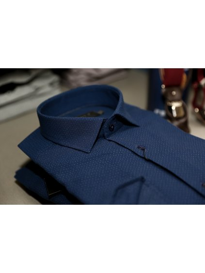 Pánská košile FERATT JAMIE Slim modrá