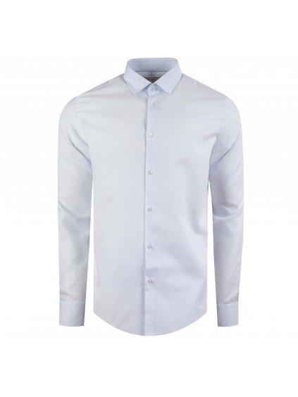 Pánská košile FERATT JAMIE Slim světle modrá