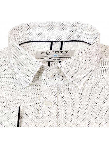 Pánská košile FERATT KAMIL Modern bílá