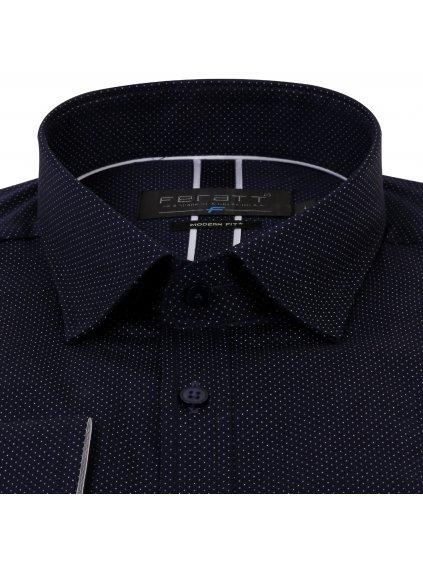 pánská košile FERATT KAMIL Modern tmavě modrá
