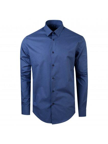 pánská košile FERATT JAMES Modern modrá