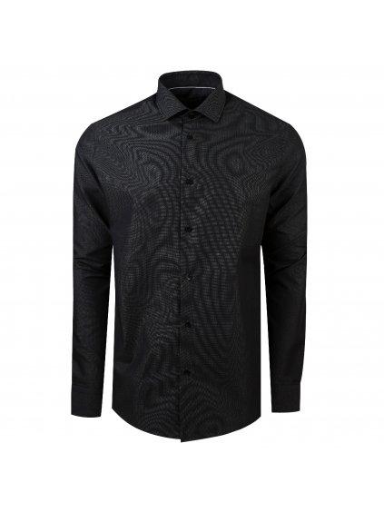 košile JAMES Regular černá