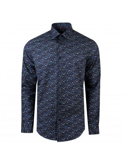 Pánská košile FERATT FIORE Slim tmavě modrá