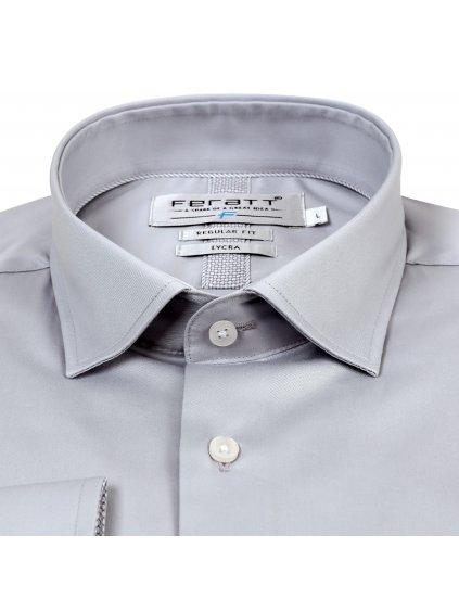 košile RAMIREZ Regular šedá