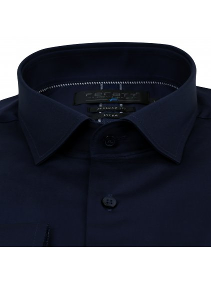 košile RAMIREZ Regular tmavě modrá
