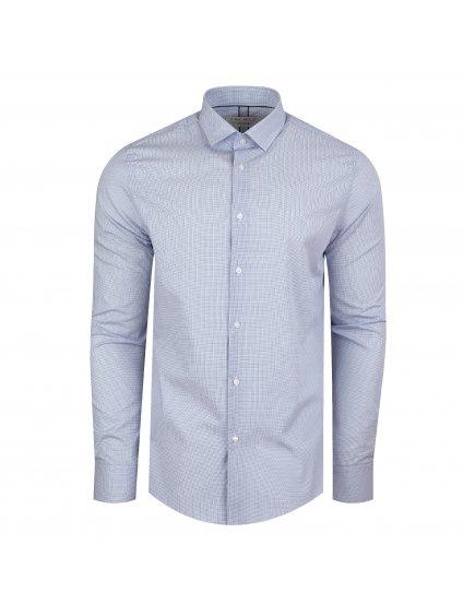 Pánská košile FERATT PERFECT Slim světle modrá
