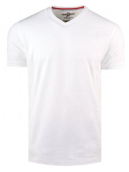 Tričko KANSAS V - bílé