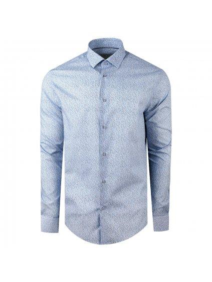 košile FIORE modern světle modrá