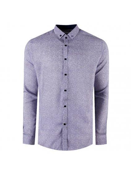 košile BAMBOO 20 Slim modrá