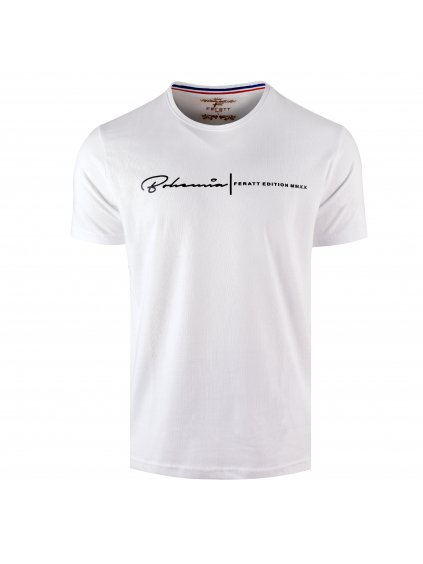 Tričko BOHEMIA bílé