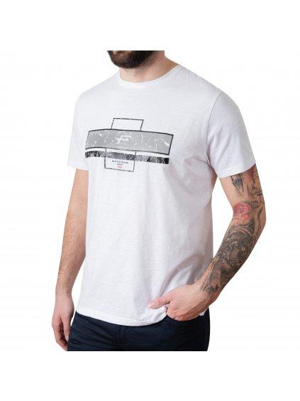 Tričko VOLCANO bílé