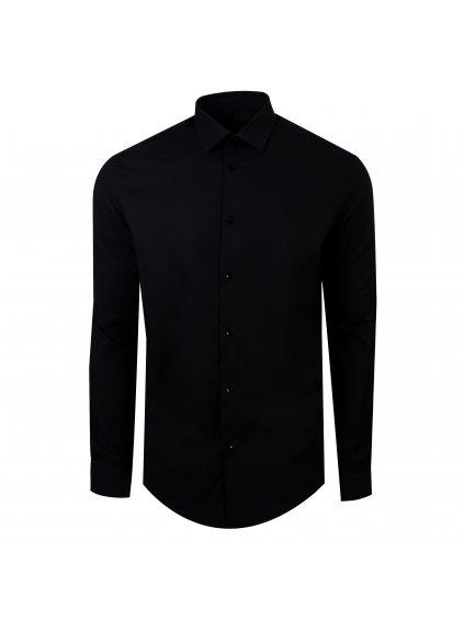 Pánská košile FERATT TRAVEL Modern černá