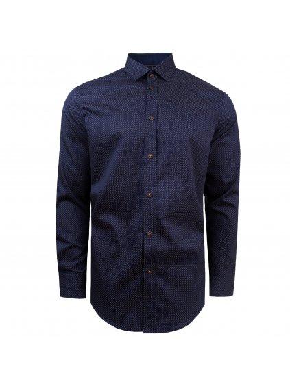 Pánská košile FERATT JASON regular tmavě modrá