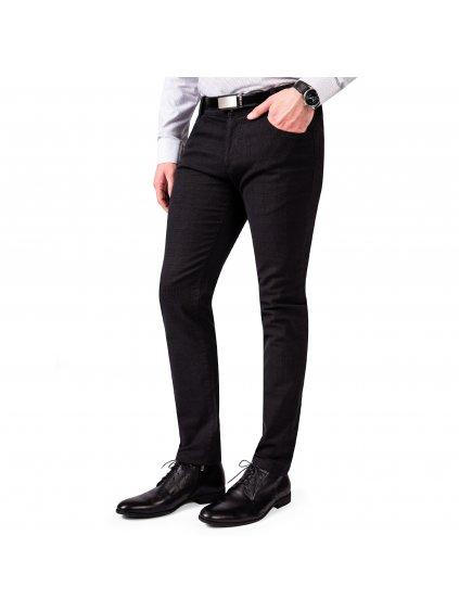 Kalhoty GEORGE černé