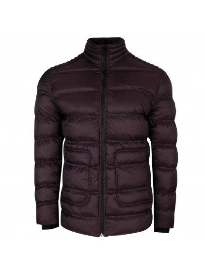 Pánská zimní bunda VALERMO - bordó