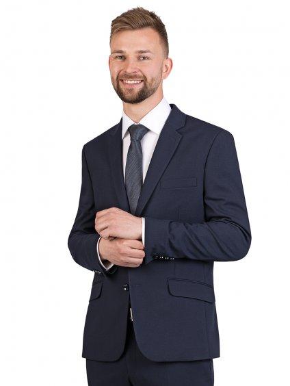 Pánský oblek SOLAR - tmavě modrý