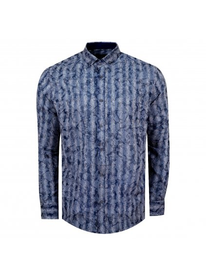 košile NORBERT Slim modrá
