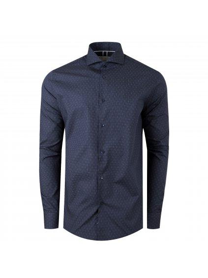 Pánská košile LEE Regular - modrý vzor