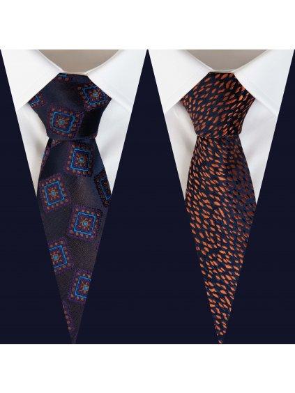 Set 7: Košile F-LINE I Slim + 2 kravaty