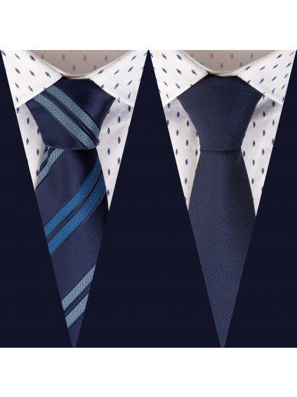 Set 9: Košile JOHNNIE Slim + 2 kravaty