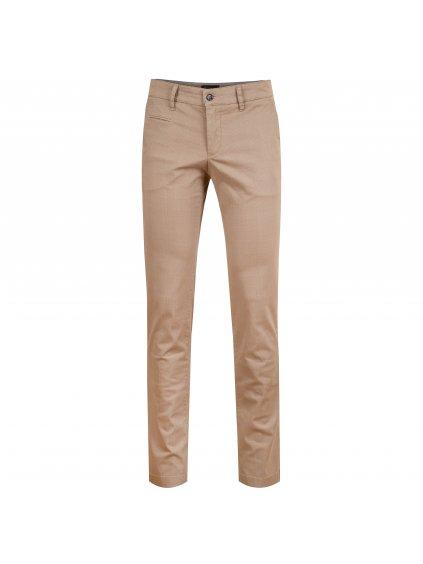 Kalhoty Oliver béžové