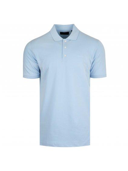 Pánská světle modrá polo košile Feratt
