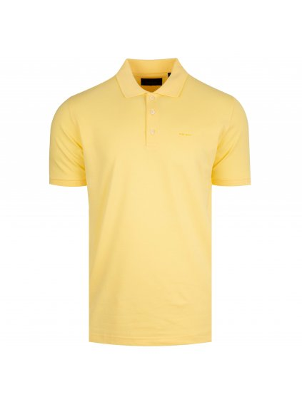 Pánské žluté polo tričko Feratt