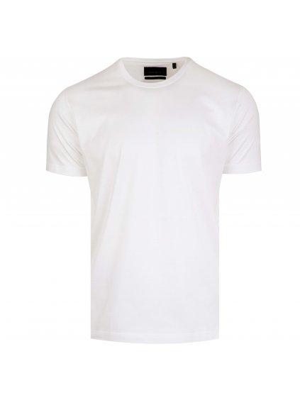 Pánské bílé tričko bavlněné