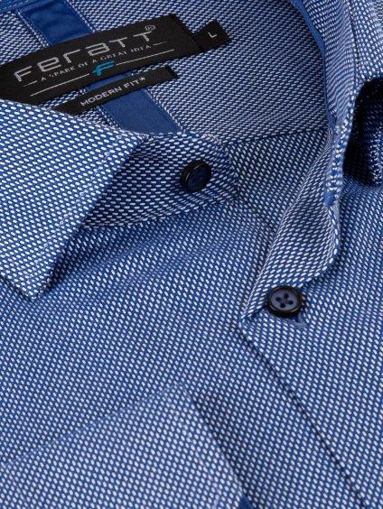 Pánská košile FERATT JAMIE modern světle modrá