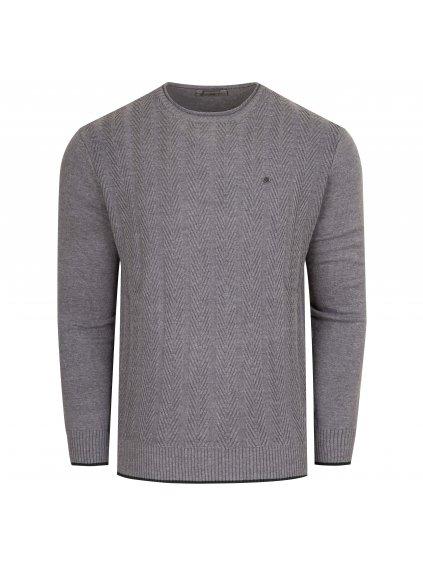 Pánský svetr FERATT MAX šedý