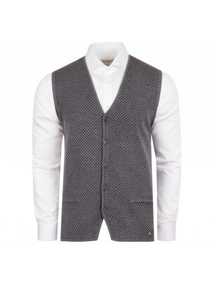 Pánská vesta FERATT EDWARD šedá