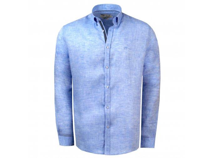 košile FILIPPO Reg. sv. modrá