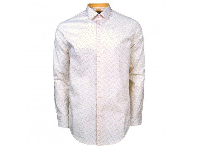 košile KIERAN Modern bíložlutá