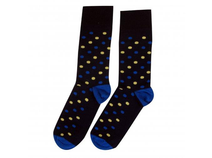 Ponožky DOTS tm. modré