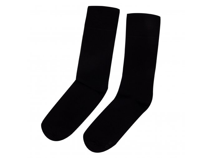 Ponožky BAMBOO tm. modré