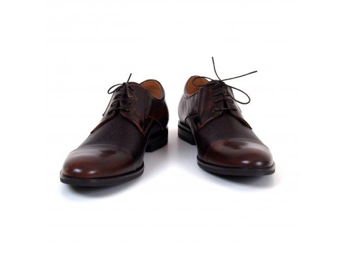 boty HENRY hnědé