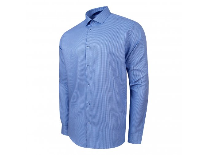 košile PERF Regular MODRÁ