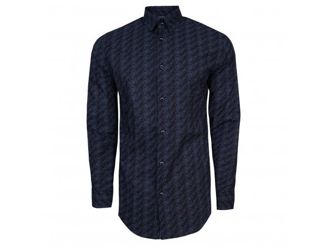 košile MICHAEL Modern černá