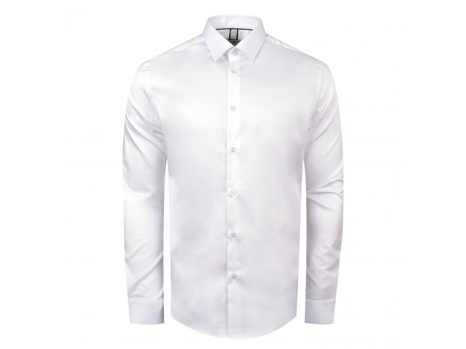 košile F-LINE Modern bílá