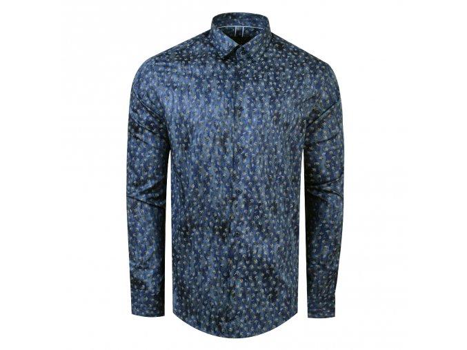 košile BUNGA Modern modrá