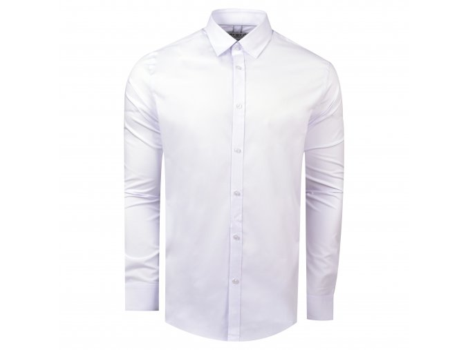 košile MARCUS Slim fit sv. šedá