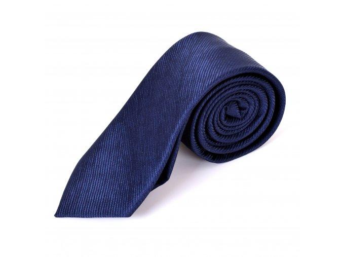Kravata Modrá F22