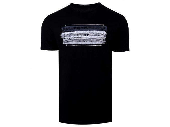 tričko JEANS černé