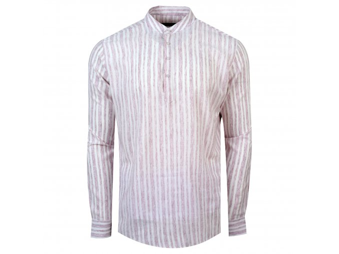 košile FRANKIE Slim fit bordó