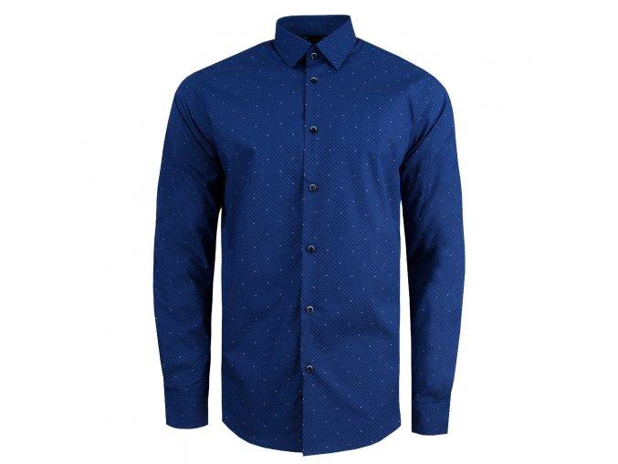 košile CALUM SLIM FIT modrá