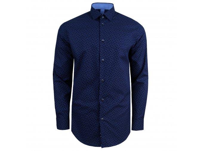 košile OLIVER MODERN FIT tm. modrá